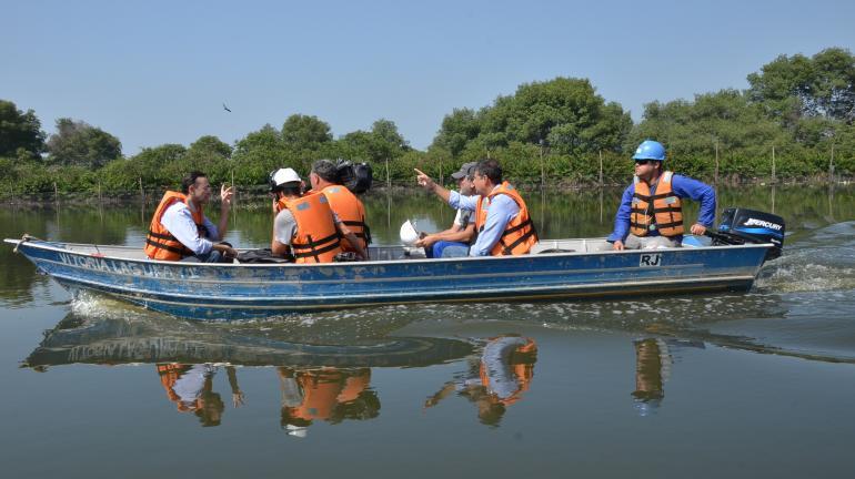 Dragagem do Complexo Lagunar da Barra já está em operação