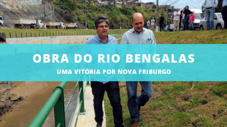 RIO BENGALAS: ESSA OBRA EU COMEMORO