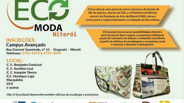 Projeto Niterói Ecocultural inicia oficinas de capacitação