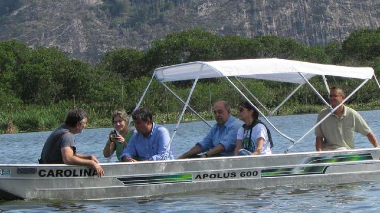 Secretário André Corrêa visita Sistema Lagunar da Barra e Jacarepaguá