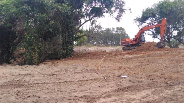 Denúncia leva polícia a encontrar área de 360 mil metros quadrados desmatada na Zona Oeste