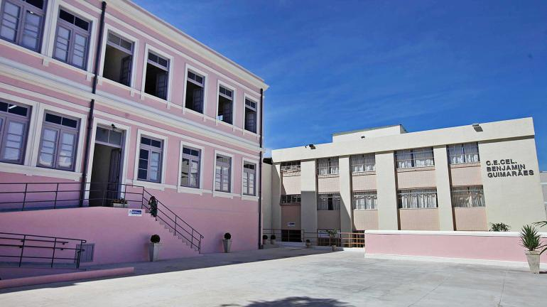 Estado reinaugura em Valença o Colégio Benjamin Guimarães