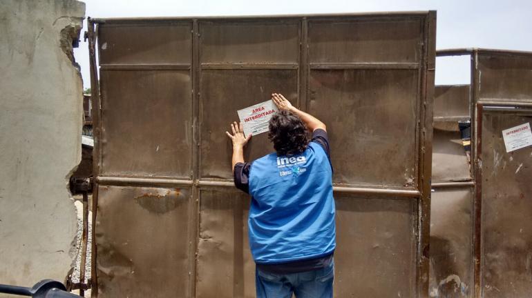 Inea interdita empresa que coletava resíduos de construção civil sem licença