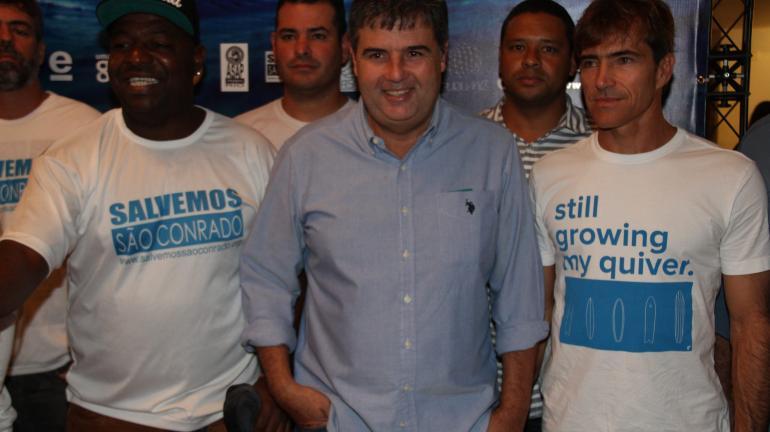 Obra para reduzir poluição da praia de São Conrado será concluída em 2016