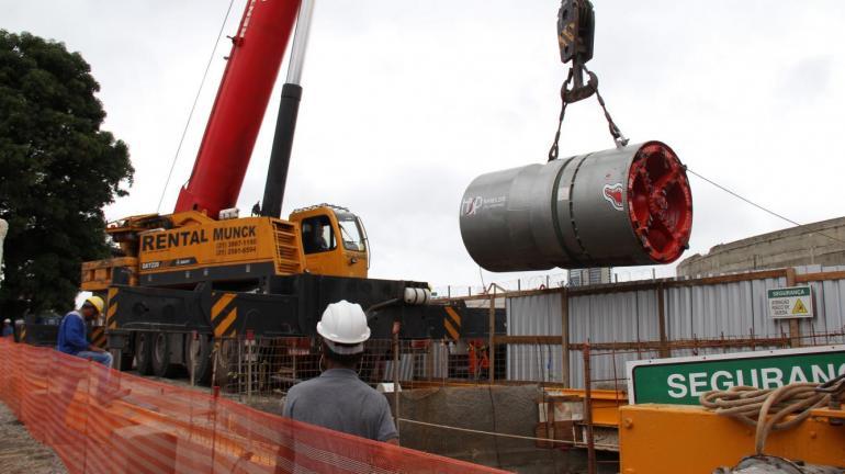 Obras do tronco coletor Cidade Nova alteram trânsito a partir deste sábado