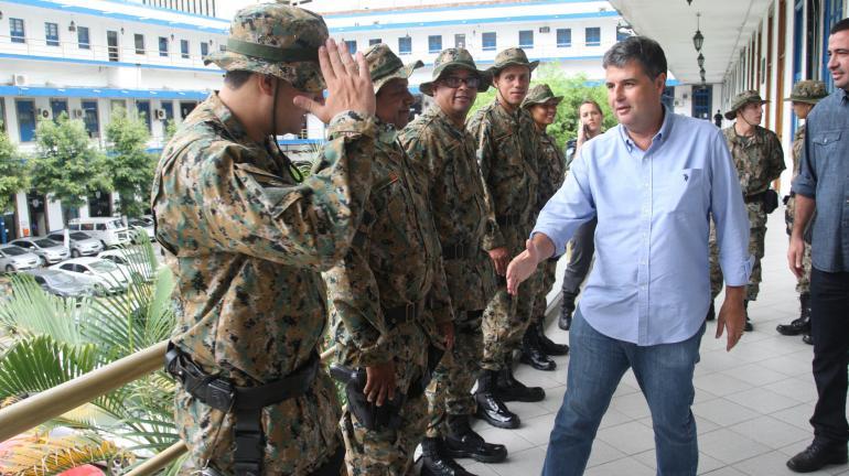 Novos uniformes do Comando de Polícia ambiental garantem maior segurança aos militares