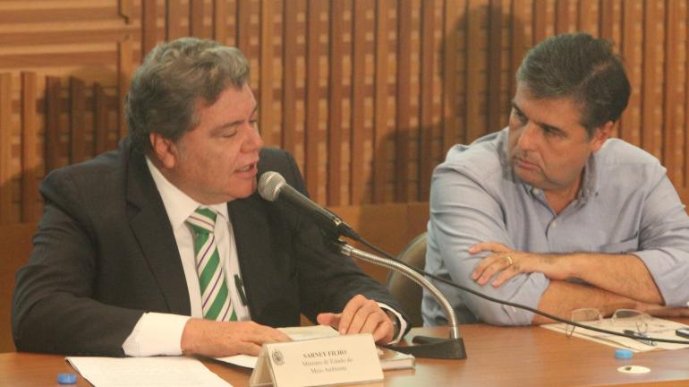 Sarney Filho diz que legislação ambiental não vai retroceder