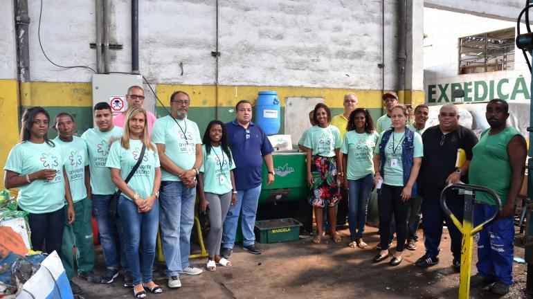 Ambiente Solidário dá destinação correta a mais de 150 toneladas de resíduos no Rio de Janeiro