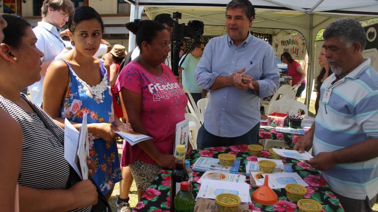 Inea promove projeto social para crianças no Conjunto Ermitage