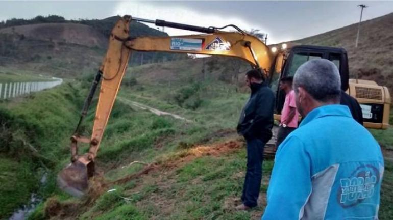 Vereadores acompanham andamento do Programa Limpa Rio em Sapucaia