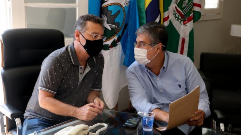 Prefeito Joa recebe a visita do Deputado Estadual André Correa