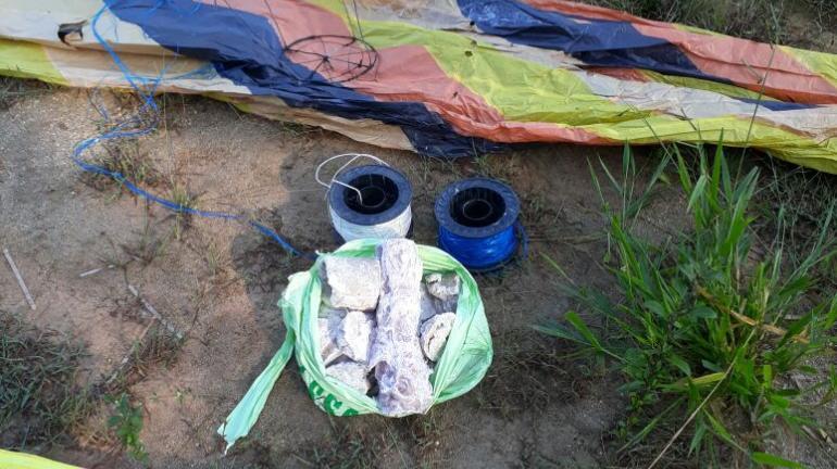 Material de baloeiros é apreendido em Campo Grande