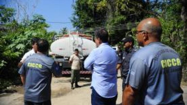 Secretaria do Ambiente combate a captação irregular de água no entorno do Parque Estadual Pedra Branca