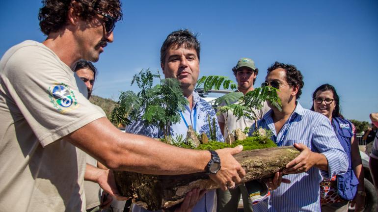 Secretário André Corrêa anuncia investimentos para o Parque Estadual Costa do Sol