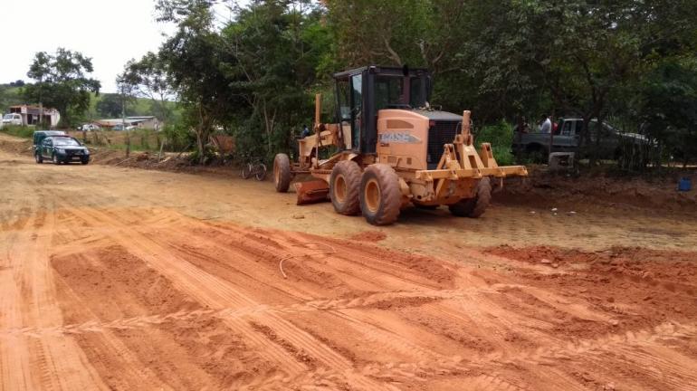 Polícia Ambiental flagra terraplanagem irregular em Miracema