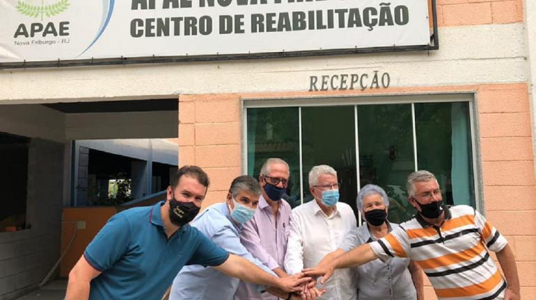 Deputados André Corrêa e Luiz Antônio visitam 11 municipios das regiões Serrana e Noroeste