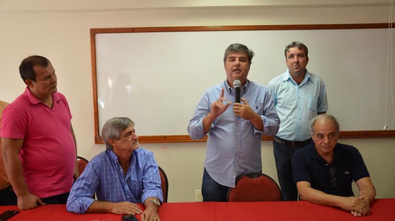 Prefeito de Santo Antônio de Pádua recepciona Deputado Estadual André Corrêa