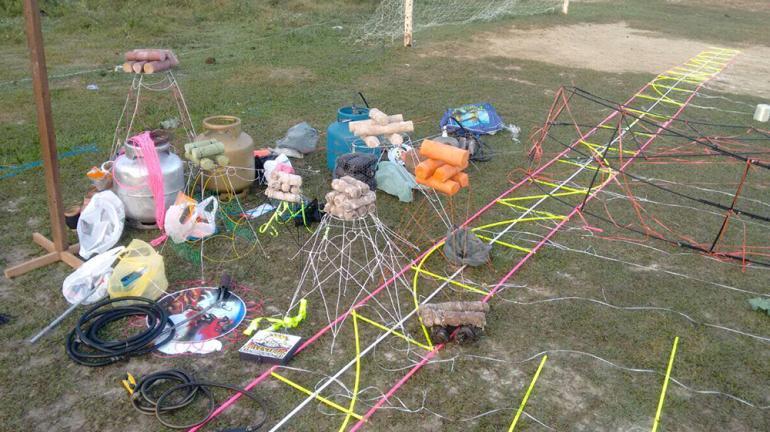Polícia Ambiental de unidade de conservação do Inea evita crime ambiental ao apreender balões em São Gonçalo