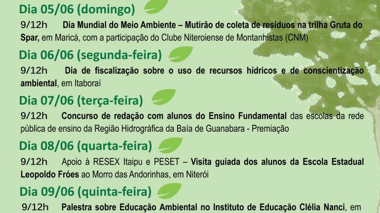 Instituto Estadual do Ambiente promove oficinas de reaproveitamento de resíduos na Praia de Icaraí