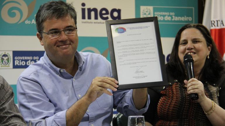 Cerimônia de Posse da nova diretoria do CEIVAP é realizada na sede do Inea