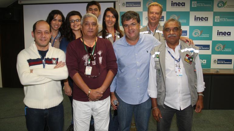 Secretaria e Inea homenageiam operadores dos Ecobarcos e parceiros que atuaram durante evento-teste de Vela