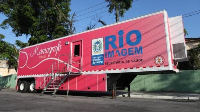 Mamógrafo móvel fará atendimentos em Iguaba Grande