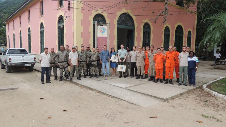 Instituto Estadual do Ambiente é homenageado pelo governo da República Tcheca  pelo empenho no resgate de turista
