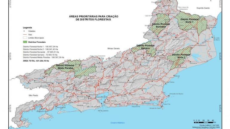 Governo define áreas prioritárias para prática da silvicultura no Estado