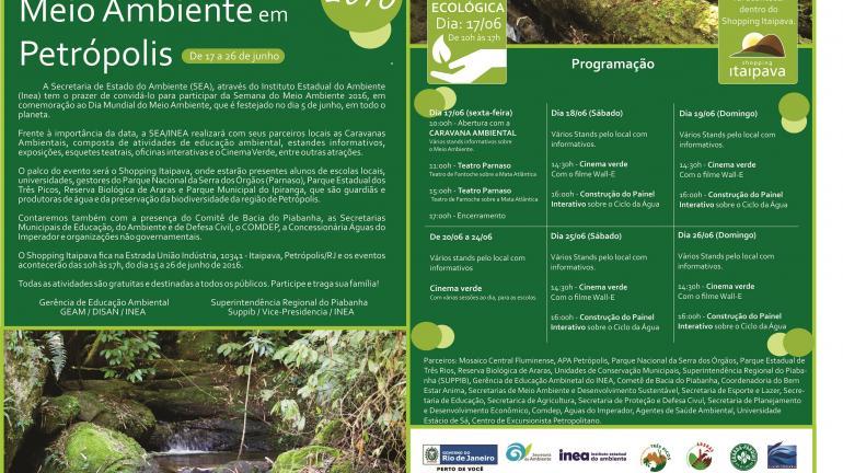 Secretaria do Ambiente e Instituto Estadual do Ambiente promovem caravana ambiental em Petrópolis