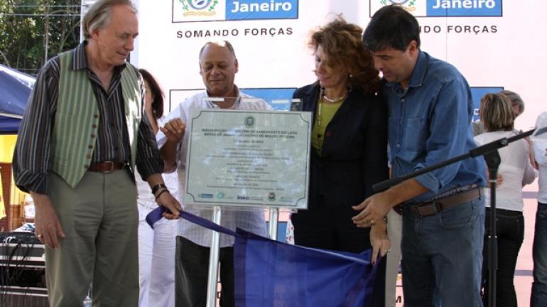 Inauguração de Tratamento de Esgoto em Miguel Pereira