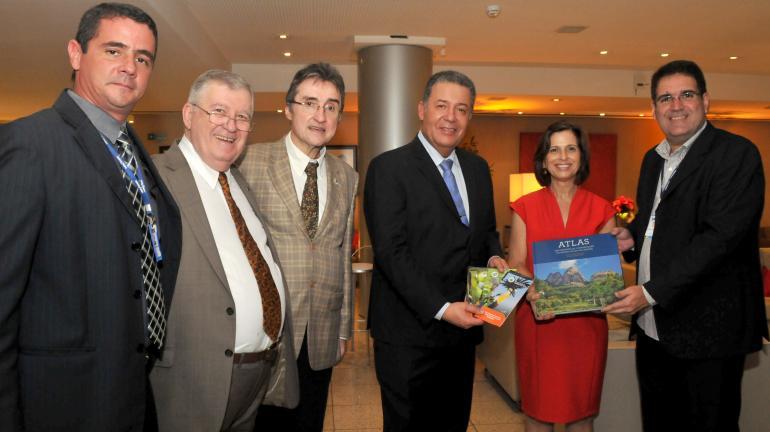 Instituto Estadual do Ambiente apresenta Parques Naturais do Estado do Rio ao ministro do Turismo durante visita ao Rio