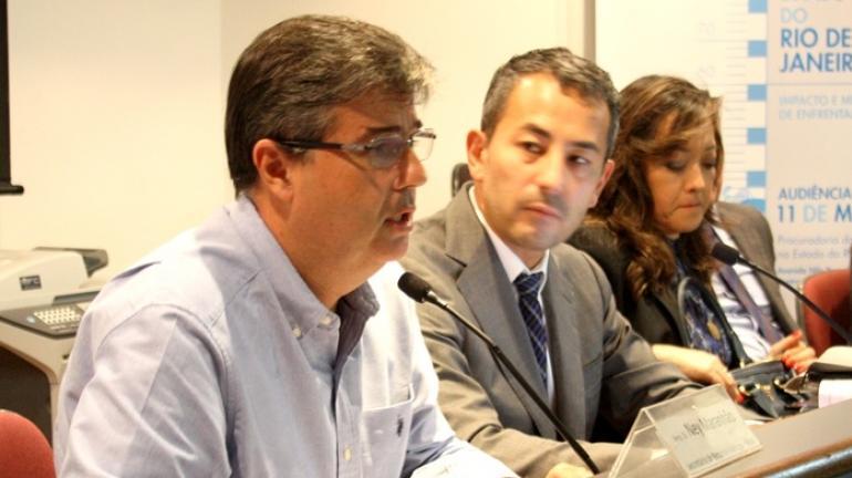 Secretário André Corrêa vai a Procuradoria Geral do Rio para discutir crise hídrica