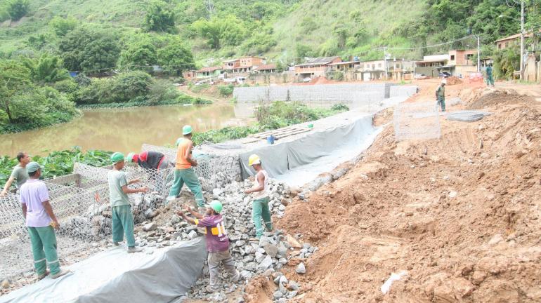 Moradores de Areal são beneficiados com obras do Inea