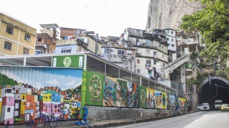 Rocinha ganha centro de reciclagem e arte