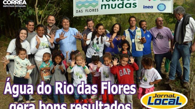 E o Projeto Água do Rio das Flores: a quantas anda?