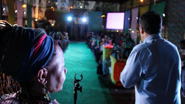 Desfile de moda sustentável e show do Funk Verde agitam Comunidade da Rocinha