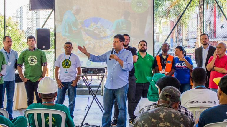 Projeto De Olho no Lixo participa de atividade na Biblioteca Parque da Rocinha neste sábado