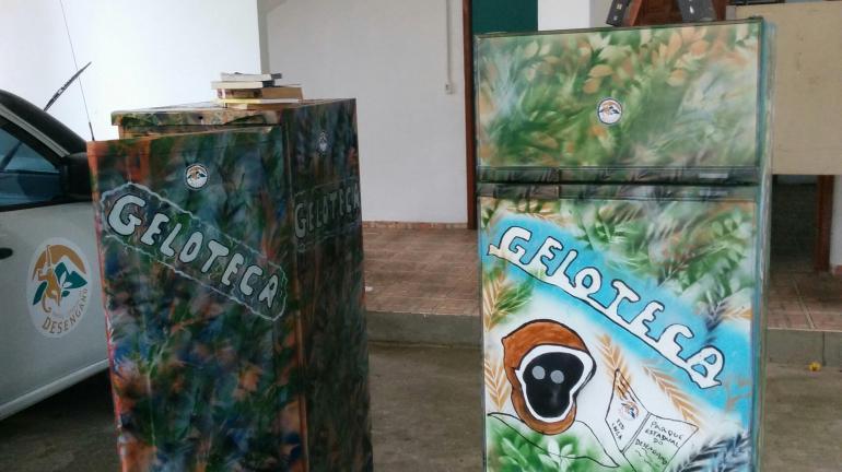 Gelotecas volantes são nova atração do Parque Estadual do Desengano para a comunidade