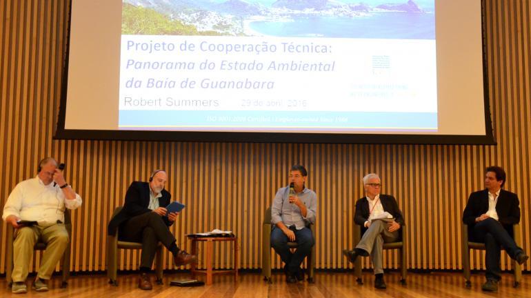 Consulta pública debate Plano de Recuperação Ambiental da Baía de Guanabara