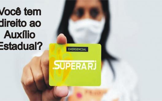 Vacinação e auxílio estadual SuperaRJ pela retomada da economia com saúde