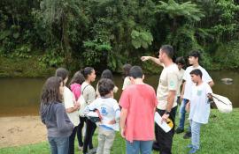 Projeto Guarda-Parques Mirins capacita crianças no Parque Estadual da Pedra Branca