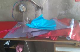 Denúncias levam policiais da UPAm Três Picos à apreensão de balão em confecção