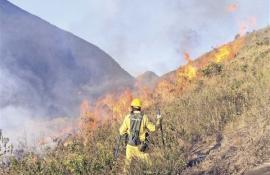 Incêndio no Parque Estadual da Serra da Concórdia foi controlado