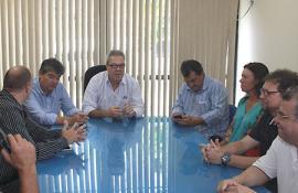 Prefeito de Cantagalo recebe o deputado André Corrêa