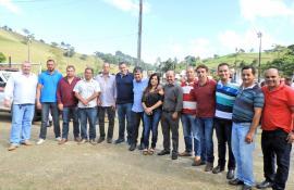 DEPUTADO ANDRÉ CORRÊA VISITA FLORESTA EM TRAJANO DE MORAES