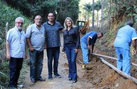 Cedae inicia obra que pretende dar fim aos constantes problemas de abastecimento em bairros