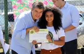 Protetores da Baía de Guanabara se formam pelo programa De Olho no Lixo, da Secretaria de Estado do Ambiente