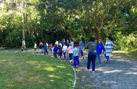 Parque Estadual dos Três Picos celebra Dia de Proteção à Floresta com atividades de educação ambiental para crianças e jovens