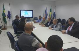 Secretaria do Ambiente se reúne com Ministério Público de São Gonçalo para debater construção da primeira etapa do sistema esgotamento sanitário da Bacia do Rio Alcântara
