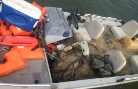Operação para coibir pesca predatória de tartaruga marinha apreende 3 km de rede em Macaé, no RJ